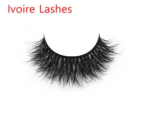 Fashionable 3D Invisible Band Mink Lashes Private Label IL3D06