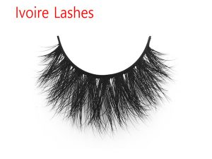 Wholesale Clear Band 3D Mink Fur Eyelashes IL3D13